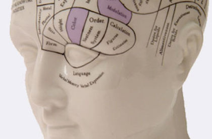 Addiction counselling in london - phrenology head