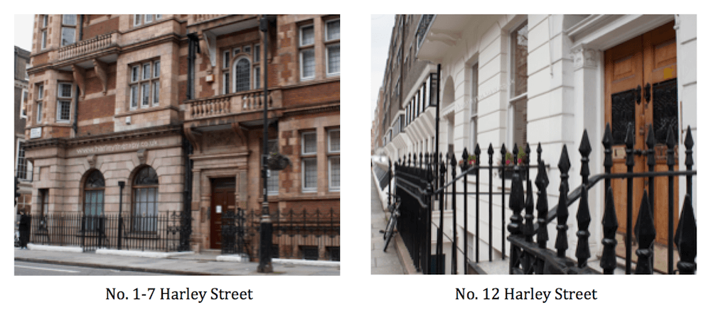 External and Internal Views of Harley Street Counselling Clinic