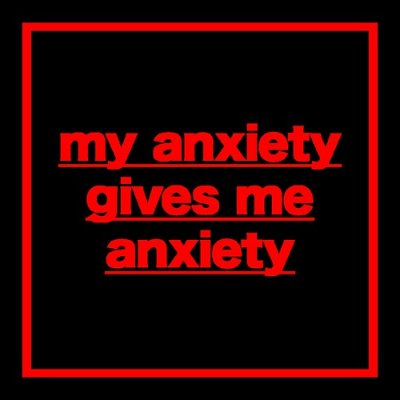 symptoms of anxiety and anxiety disorder