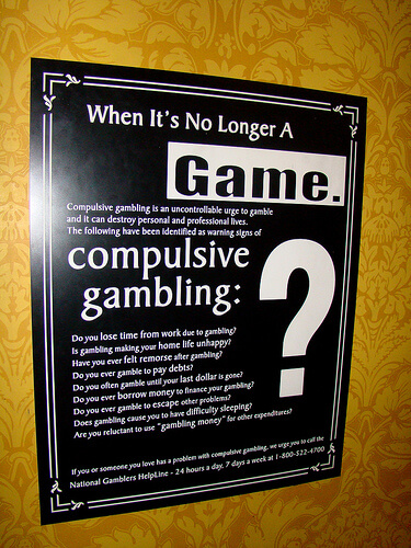 Adhd pathological gambling