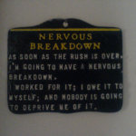 symptoms of a nervous breakdown