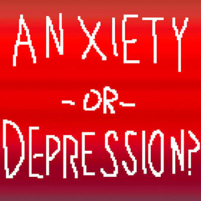 anxiety vs depression