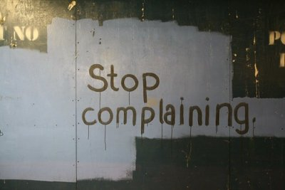 always complaining