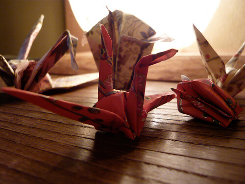Origami and Colouring – Mindfulness, or Not Really?