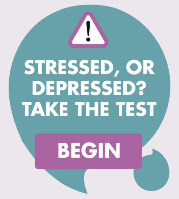 stressed or depressed?