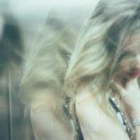 A woman who is sad
