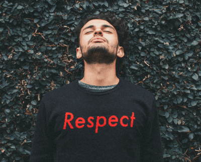 how to show respect